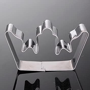 Amazon.com : Stainless Steel Crown Cookie Cutter Sushi Cake ...