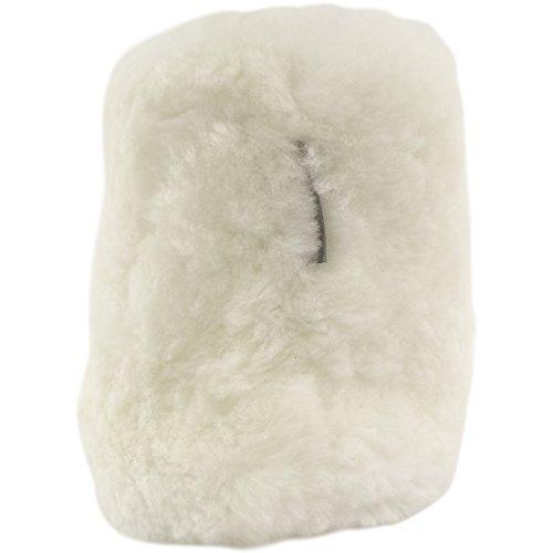SNUGRUGS Slouch Sheepskin, Zapatillas de Estar por Casa para Mujer Blanco - White (Natural)