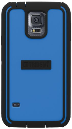 Trident Cyclops Case for Samsung Galaxy S5 - Retail Packaging - Blue