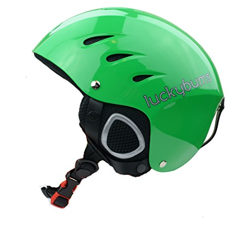 Lucky Bums Snow Sports Helmet (Green, Large)