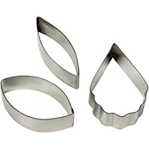 PME CO220 Metal Cutters Cattleya Orchid Flower, 3-Pack