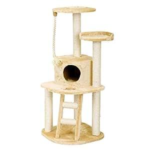 Almerich Cat Play Tower Scratcher - Beige