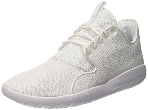 Men's Jordan Eclipse, White/White, 9.5 D(M) US by NIKE