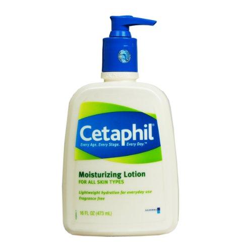 Parfum Lotion hydratante Cetaphil gratuit, 16-Ounce Bottles (Pack de 2)