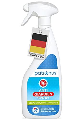 Patronus Giardien-Spray speziell für Hund & Katze 500ml – Hygiene-Spray für Haustiere als Desinfektionsmittel für…