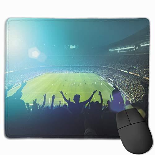 Computer Gaming Mouse Pad Football Stadium Laptop Pad Non-Sl