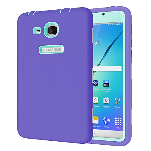 Galaxy Tab A 7.0 Case, Beimu 3 in 1 Hybrid PC+ Silicon Shockproof Impact Resistant Corner/Bumper Protection Armor Defender Case Cover for Samsung Galaxy Tab A 7.0 Inch Tablet 2016 (SM-T280 / SM-T285)
