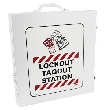 NMC LOC LOCKOUT CABINET WHITE STATION ONLY
