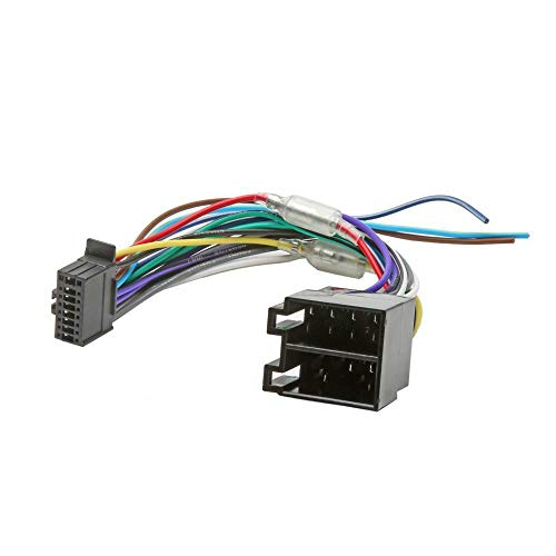 Inex ISO Wiring Adaptor Harness Stereo Radio Connector Cable Loom Kenwood Pin: