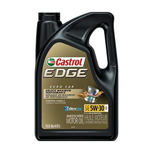 Castrol 03559 Edge 5W-30 C3 Advanced Full Synthetic Motor Oil, 5 Quart