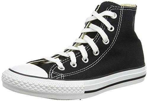 Free Converse Boys' Tod/Yth Chuck Taylor All Star Hi Top - Black - 13.5 YTH
