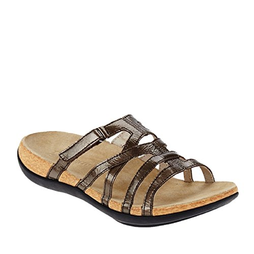 Spenco Women's Roman Dark Taupe Sandal (Shoes Roman Sandals)