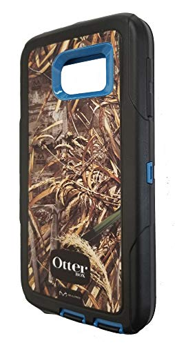 OtterBox Defender Series for Samsung Galaxy S6 (Case Only) - Bulk Packaging - (Realtree Camo/Blue) ()