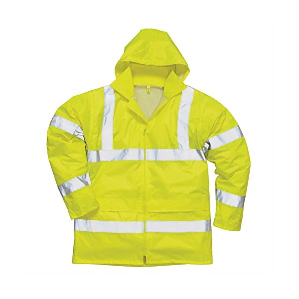 Portwest Waterproof Rain Jacket, Lightweight 2