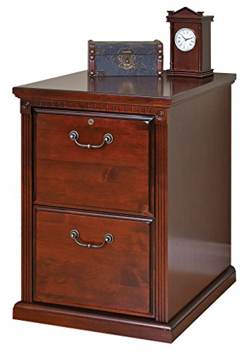 Kathy ireland Home by Martin Huntington Club 2 Drawer File Cabinet - Fully Assembled