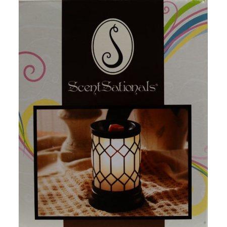 ScentSationals Full-Size Wax Warmer Home Decor, Bronze Lantern