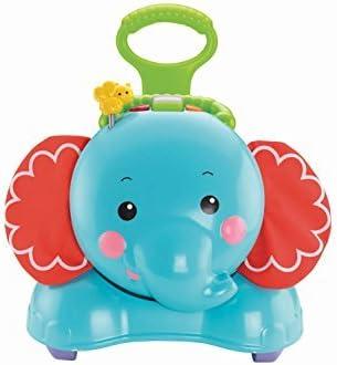 Mattel CBN62 Fisher-Price Elefante andador 3 En 1