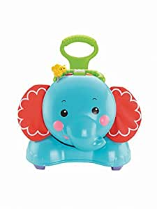 Fisher Price - Elefante andador 3 En 1 (Mattel CBN62)