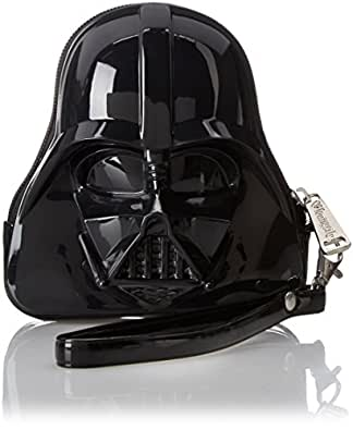 Loungefly Darth Vader Wristlet Coin Purse, Black, One Size