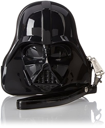 Loungefly Darth Vader Wristlet Coin Purse, Black, One Size (Darth Vader Purse)