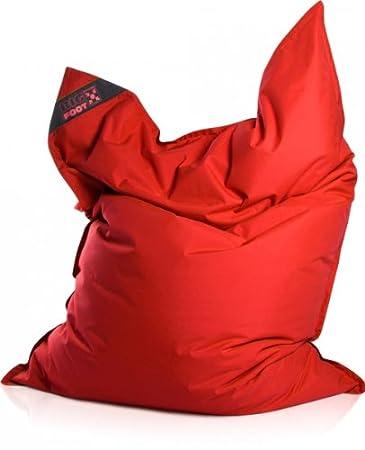 Sitzsack Scuba Big Foot 130x170cm Rot Outdoor Amazonde Küche