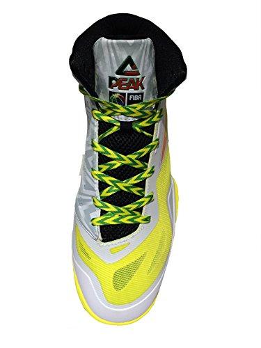 PEAK - Speed eagle zapatilla de baloncesto para hombre/mujer whithe shining