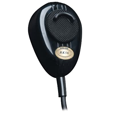 RoadKing RK56B Black 4-Pin Dynamic Noise Canceling CB Microphone from RoadKing