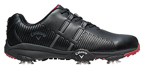 Callaway Men's Chev Mulligan M189-02 Golf Shoes, Black, 8.5 UK 42 1/2 EU