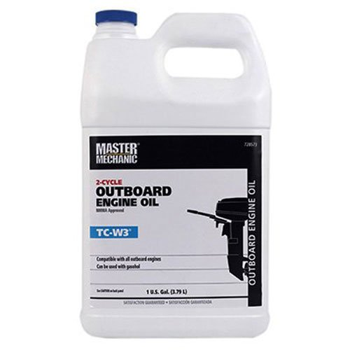 OLYMPIC OIL 728573 TCW3 Master Mechanic 2-Cycle Outboard Engine Oil, 1-Gallon