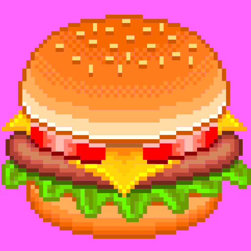 Pixel Art Food - Coloring by Number ()