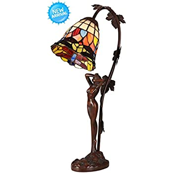 Tiffany Style Table Lamp Desk Lamp 21 5 Inches Height