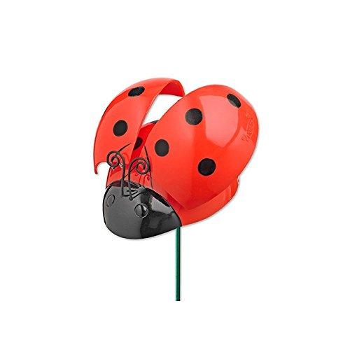 - 7 inch WindyWings Ladybugs Garden Stake