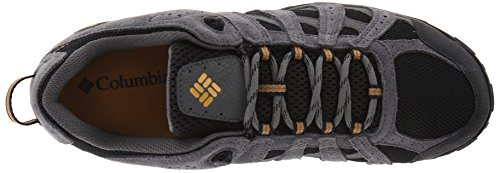 Columbia Men's Redmond Waterproof Hiking Shoe Black, Squash 7.5 D US by Columbia (Image #8)
