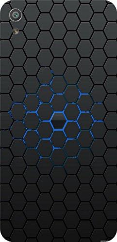 shengshou pattern design mobile back cover for sony xperia xa ultra dual   black blue   Black; Blue
