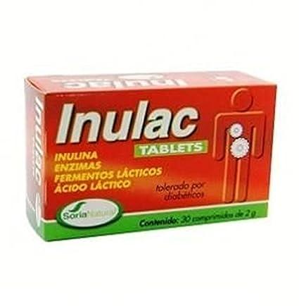 Inulac Tabletas 30 comprimidos de Soria Natural