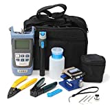 Zinnor Fiber Optic FTTH Tool Kit With FC-6S Cleaver & Optical Power Meter 5km Economical practical construction operators for CCTV Telecom Maintenance