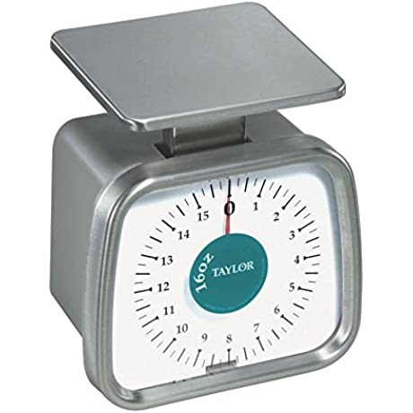Taylor TP16 Mechanical SS Fixed Dial Portion Scale 16 Oz X 1 4 Oz