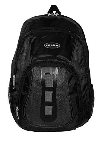 Basico Casual Daypack Backpack (Black)