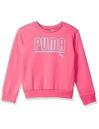 PUMA Girls Girls' My Crew Sweatshirt Sweatshirt