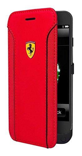 Ferrari Fiorano Buchtyp Hülle für Apple iPhone 6/6S rot