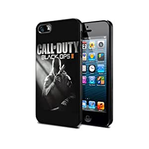 Call of duty Black Ops 2 Game NCb01 Case Cover Protection Samsung Galaxy Ace 3 Black Silicone
