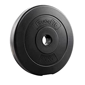 20KG Barbell Weight Plates Dumbbell Plate Olypic Weight Set Home Gym Fitness Exercise Workout Training Bench Press Squat Pair Everfit