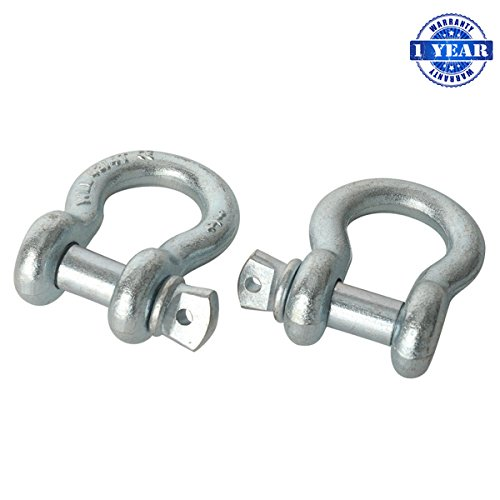 XYZCTEM Towing D Ring Shackles Set product image