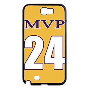 NBA Los Angeles MVP NO.24 Jersey Golden Hard Case Cover for Galaxy Note 2 N7100 by supermalls