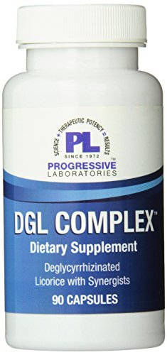 Cheap Progressive Labs DGL Complex Supplement, 90 Count