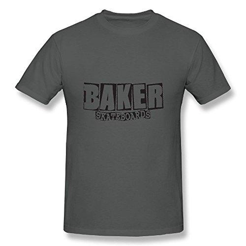 Sukuraceci Baker Skateboards T-Shirts Baseball Short Tees Cool Tshirts