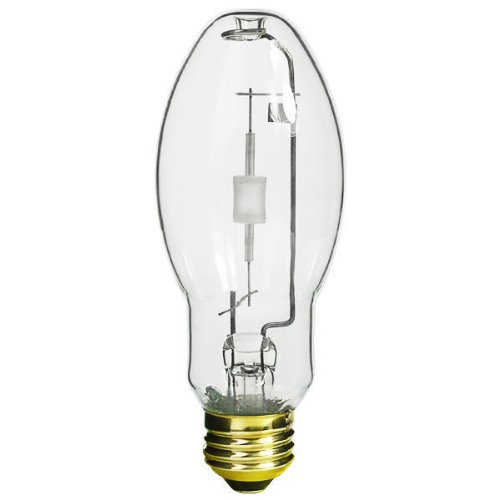 Philips Lighting 377200 ED17 Standard Metal Halide Lamp 150 Watt E26 Medium Base 10140 Lumens 90 CRI 4000K Deluxe Cool White MasterColor CDM