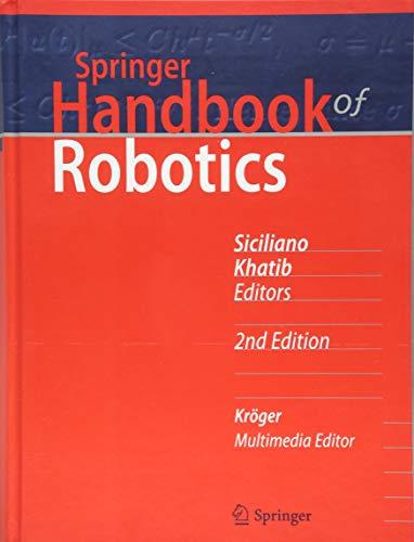 Springer Handbook - Springer Handbook of Robotics (Springer Handbooks)
