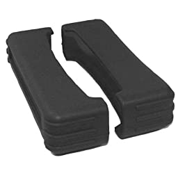 82 Series Rubber Boot Size 8 - Black (Pair) - 1.5 Inch X 5.25 Inch X 2 Inch