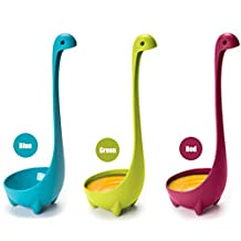 Nessie Soup Ladle 3 Pack,Kitchen Utensil Cookware Loch Ness Monster